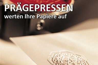 Papierprägepressen